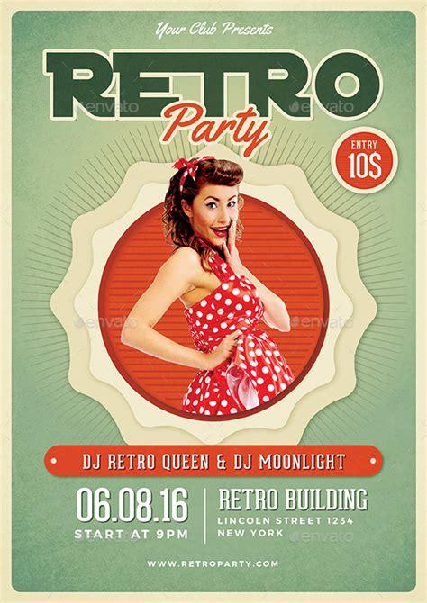 Retro Flyer Retro Flyer By Vynetta Graphicriver