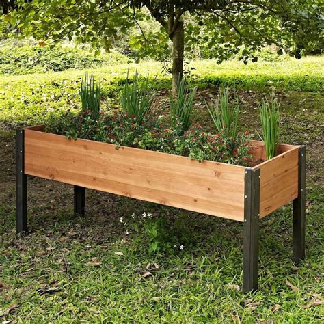 Elevated Planter Box by 25 Best Ideas About Elevated Garden Beds On