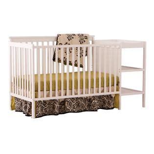 Stork Craft Milan 2 In 1 Convertible Crib Changer White Kmart Baby Cribs