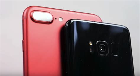 Galaxy S8 vs. iPhone 7 Plus: The most detailed camera
