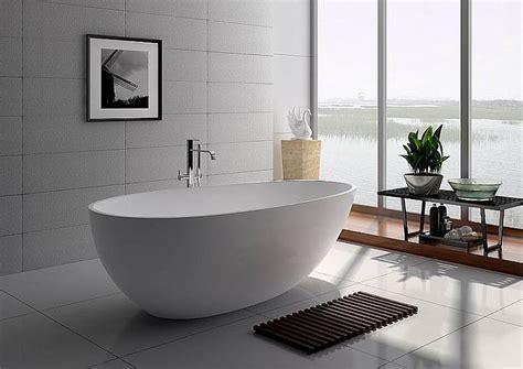 badewanne freistehend corian freistehende badewanne 160 in mattstone