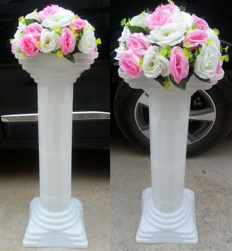 Wedding road lead column wedding decoration Plastic roman