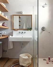 Merveilleux Plan Salle De Bain 4m2 #1: 000-salle-de-bain-4m2-idee-amenagement-petite-salle-de-bain-sol-en-pariquet-mur-en-beton-cire.jpg