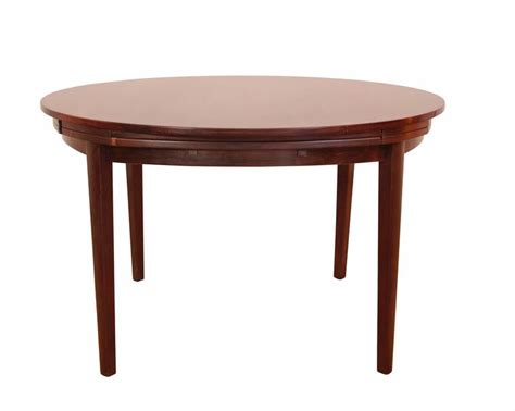 table with slide out leaves dyrlund dinning table with pull out leaves at 1stdibs