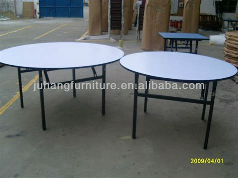 rotating used round banquet tables for sale buy used