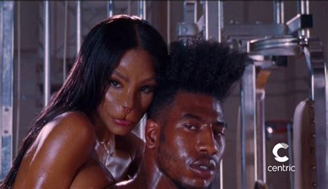 is iman shumperts life being ripped off for empire cast kanye west s fade video dancer starred in mtv s my super