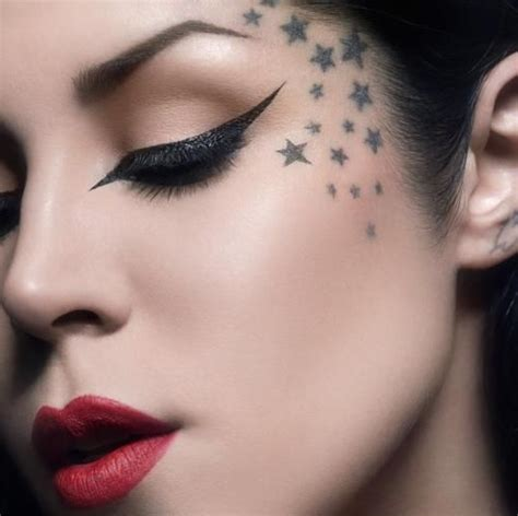 star tattoos on face amazing brave tattoos tattoos beautiful