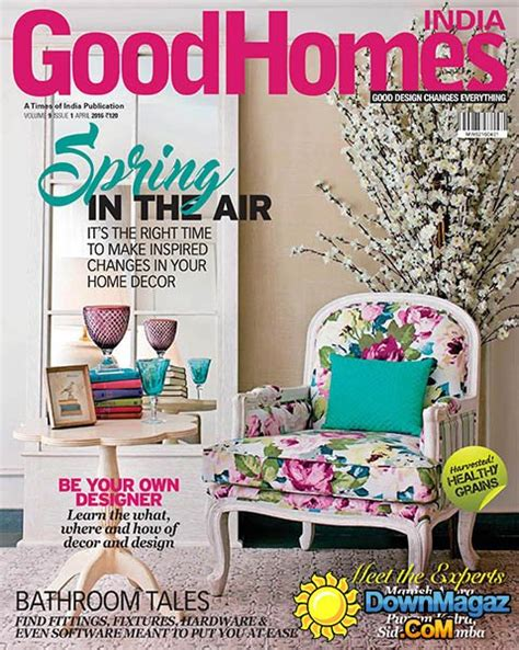 good home design magazines goodhomes in april 2016 187 download pdf magazines