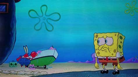 spongebob boat this actually happened in a spongebob episode 2 hot krab