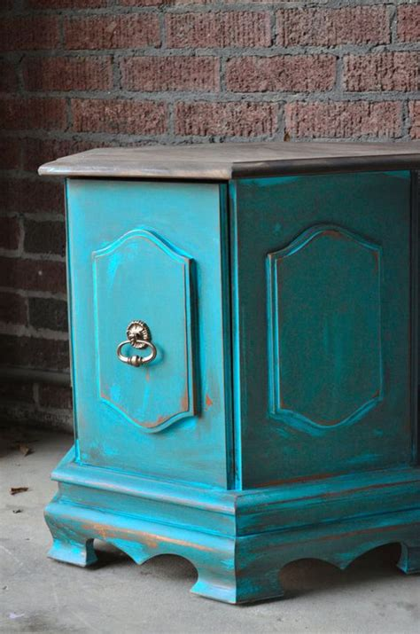 shabby chic bedside table images beach cottage style on vintage painted bedside tables side tables end table