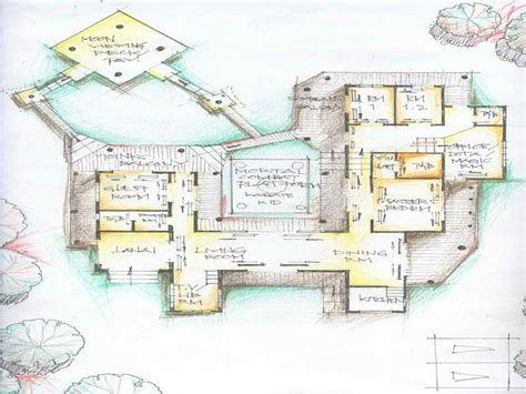 Ranch House Plans With Open Concept unusual house plans smalltowndjs com