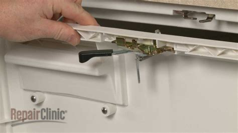 Dishwasher Troubleshooting Ge Ge Dishwasher Door Latch Replacement Wd13x10003 Youtube