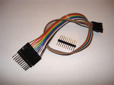 Kabel Jumper Dupont 10 Cm 20 Pin dupont jumper kabel 20cm knutselaar eu