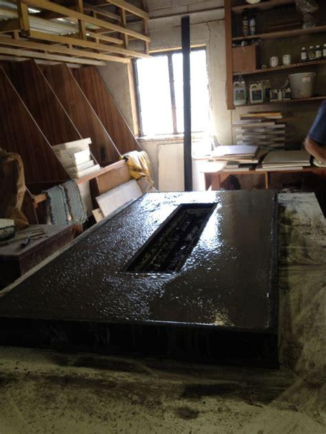 Polished Concrete Countertop by Building A Concrete Countertop For A Pit Decorative