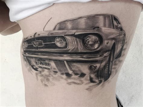 mustang tattoo designs mustang car healed my works tattoos