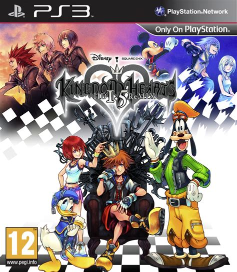 ps3 themes kingdom hearts 2 5 kingdom hearts 1 5 hd remix sur playstation 3 jeuxvideo com