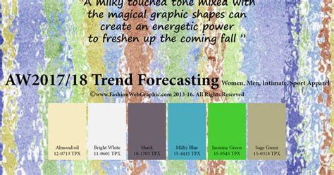 aw2017 2018 trend forecasting on behance autumn winter 2017 2018 trend forecasting is a trend color