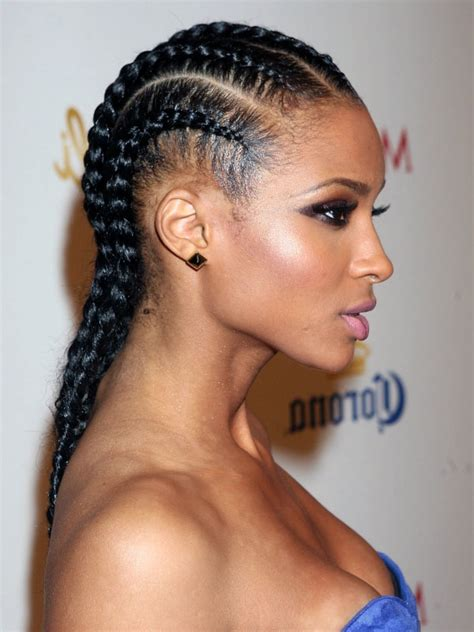 2 braids hairstyle for black hair blackbraidhairstyle black braid haitstyles