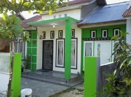 warna cat pintu  jendela rumah minimalis sekitar rumah