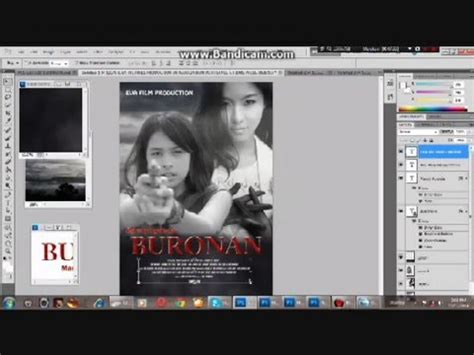 Tutorial Photoshop Cs5 Membuat Poster | tutorial membuat poster film menggunakan adobe photoshop
