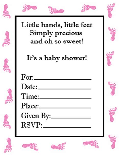 custom baby shower invitations template best template