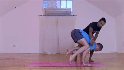 yoga class tutorial crow pose tutorial yoga class by dylan ayaloo