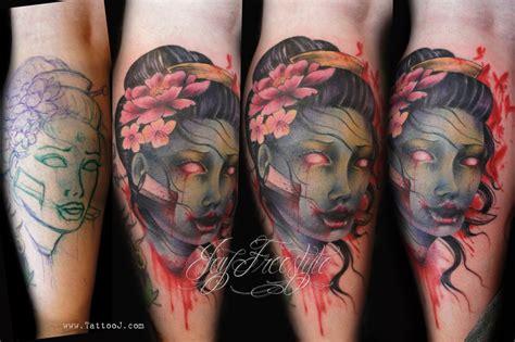 tattoo geisha head head tattoo wonderful japanese geisha head on biceps