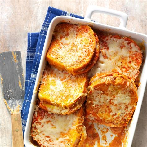 Classic Comfort Food Recipes by Grilled Cheese Tomato Soup Bake Recipe Grilled