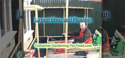 How To Lay Out A Vegetable Garden How To Lay Out A Vegetable Container Garden To Maximize