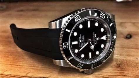 Rubber B For Rolex Submariner rubber b on rolex submariner band review