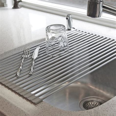Sink Drying Rack by 16 Awesome Space Saving Products That Just Make Sense