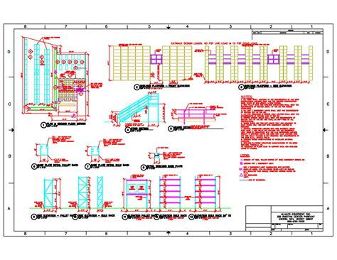 Pallet Rack Pallet Rack Warehouse Layout Warehouse Rack Layout Excel Template