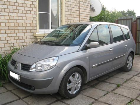 renault scenic 2005 2005 renault scenic pics 1 5 diesel ff manual for sale