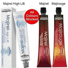 majirel majirouge high lift hair colours loreal tint dye all colours stocked ebay loreal majirouge hair colourants ebay