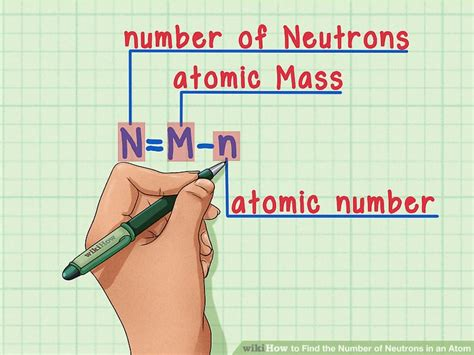 How To Find The Number Of Protons Neutrons And Electrons by How To Find The Number Of Neutrons In An Atom 11 Steps