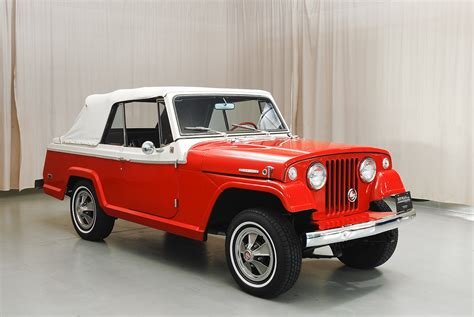 convertible jeep 1968 jeep jeepster convertible hyman ltd classic cars