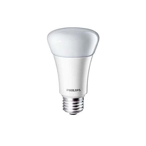 5000k Led Light Bulbs Philips 60w Equivalent Daylight 5000k A19 Dimmable Led Light Bulb 4 Pack 433318 The Home Depot