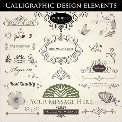 design elements fonts 1000 images about fonts calligraphic elements on