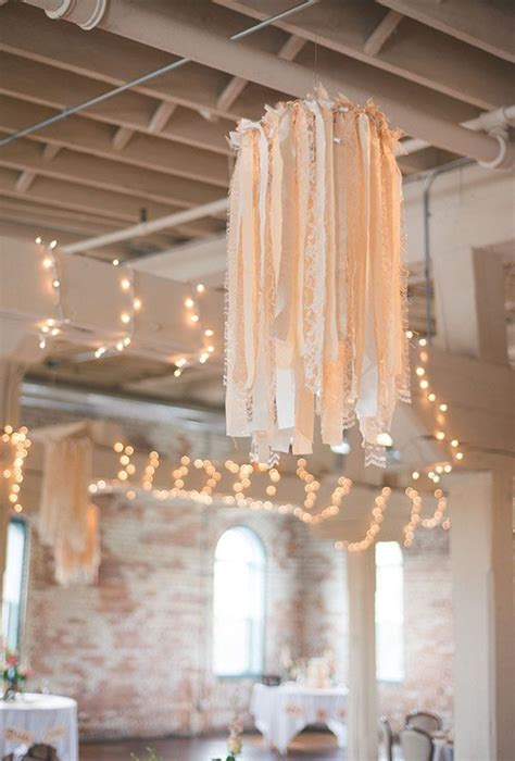 Cloth lantern lighting wedding decoration DIY hula hoop