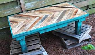 diy wooden pallet coffee table woodworking projects