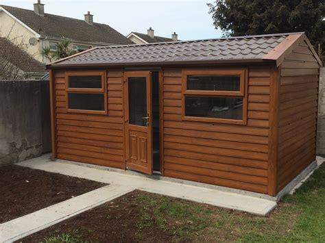 Dublin Sheds by Best Timber Steel Sheds Dublin Apco Garden Design