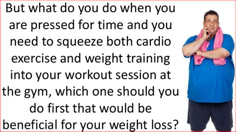 Should I Do Cardio Or Weights To Get Lean by Weight Or Cardio Which Should You Do In A