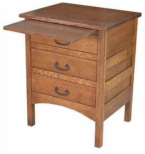 Country Mission Nightstand Amish Crafted - the woodloft amish custom stands and bedside chests