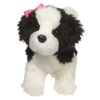 stuffed shih tzu poofy the standing stuffed shih tzu by douglas