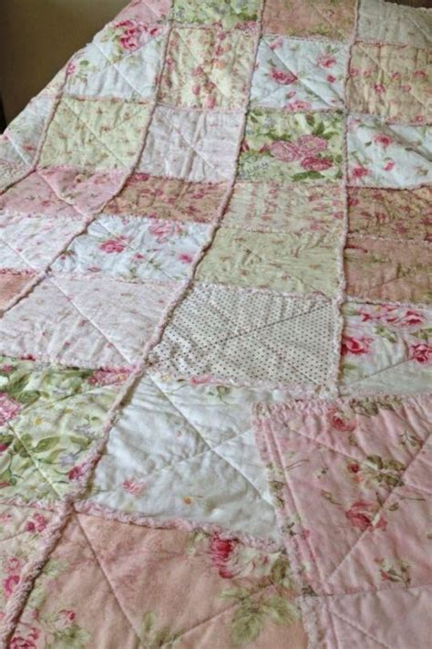 pattern rag quilt rag quilt i love the vintage pattern crafty pinterest