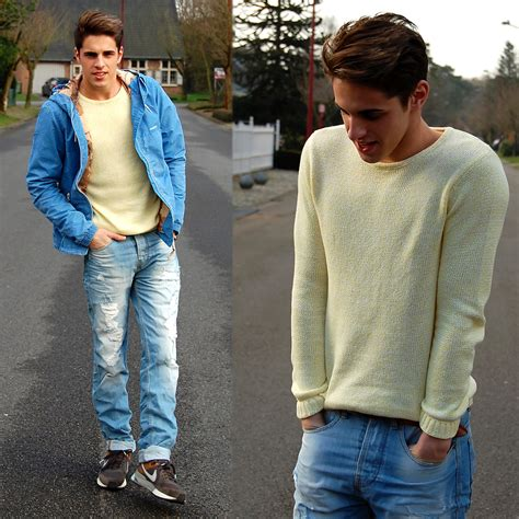 Ripped Pull And matthias geerts pull pastel sweater pull