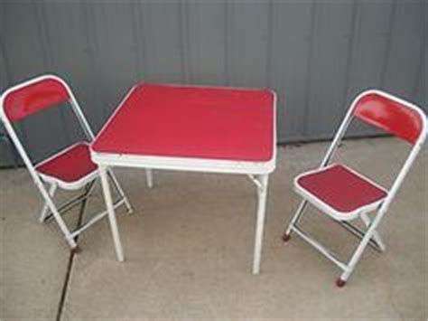vintage childrens metal table and chairs 1000 images about furniture on child