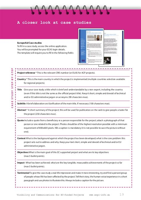 Visibility And Communications Communication And Visibility Plan Template