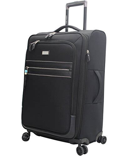 Steve Madden 4 Luggage With Spinner Wheels by Steve Madden 4 Patchwork Softside Expandable Luggage Collection With Spinner Wheels Black