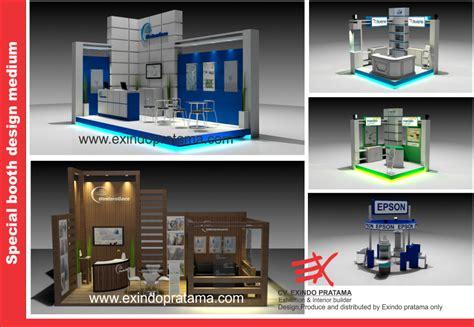 desain booth kayu kontraktor pameran jogjakarta kontraktor booth pameran